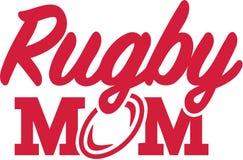 Rugby mama Zdjęcia Royalty Free