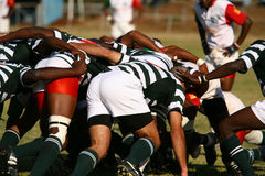 Rugby match Royalty Free Stock Image