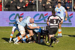 Rugby match Royalty Free Stock Images