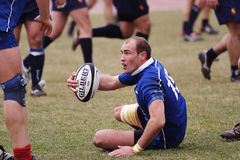 Rugby match. Royalty Free Stock Images