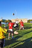Rugby match Cus Torino Vs Rangers Vicenza stock image