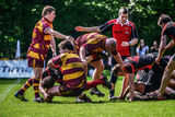 Rugby match Stock Photos