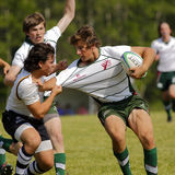 Rugby Men Shirt Ball Players Stock Images