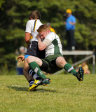 Rugby Men Tackle Canada Stock Photography