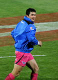 Rugby Morne Steyn Warming Up South Africa 2012 Stock Photos