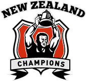Rugby New Zealand Champion Stock Photography