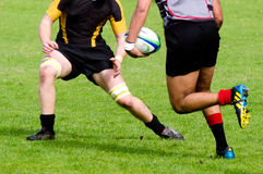 Rugby in New Zealand Royalty Free Stock Photography