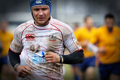 Rugby niezidentyfikowany gracz obrazy royalty free