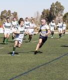 Rugby ondergeschikte spelers royalty-vrije stock fotografie