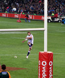 Rugby Peter Grant Kick Stormers South Africa 2012 Royalty Free Stock Photography