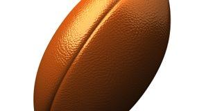 Rugby piłka na białym tle ilustracja wektor