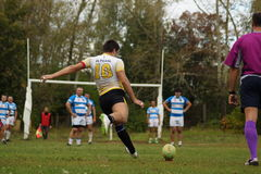 Rugby play royalty free stock image