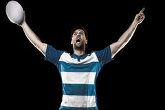 Rugby player Royalty Free Stock Images