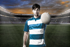 Rugby player Royalty Free Stock Photos