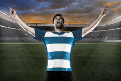 Rugby player Royalty Free Stock Image