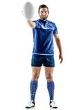 Rugby player man isolated Stock Image