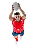 Rugby player man  Royalty Free Stock Image