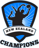 Rugby Player  New Zealand Champions Stock Photography