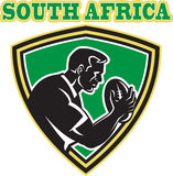 Rugby player south africa Royalty Free Stock Photo