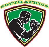 Rugby player south africa Stock Images