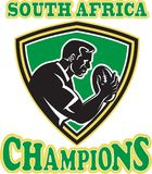Rugby player south africa champions Stock Photos