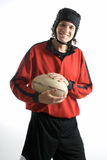 Rugby Player - Vertical Royalty Free Stock Image