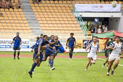 Rugby players Royalty Free Stock Photography