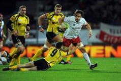 Rugby Poland - Moldova Friendly Royalty Free Stock Photos