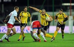 Rugby Poland - Moldova Friendly Stock Photo