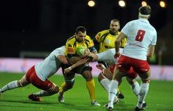 Rugby Poland - Moldova Friendly Stock Photos
