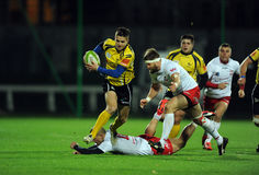 Rugby Poland - Moldova Friendly Stock Images