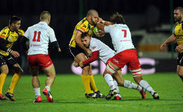 Rugby Poland - Moldova Friendly Royalty Free Stock Image