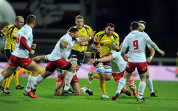 Rugby Poland - Moldova Friendly Royalty Free Stock Images