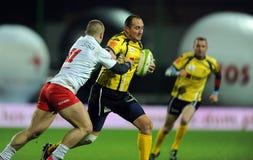 Rugby Poland - Moldova Friendly Stock Photography
