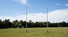 Rugby pole Obraz Stock