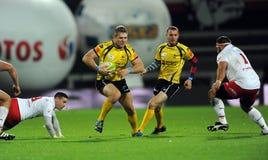 Rugby Pologne - Moldau amicaux Images libres de droits