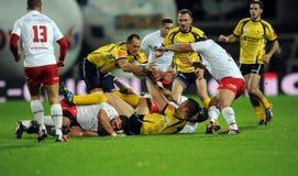 Rugby Pologne - Moldau amicaux Photos libres de droits