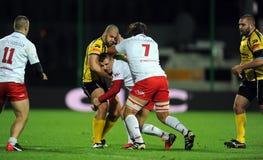 Rugby Pologne - Moldau amicaux Photo stock