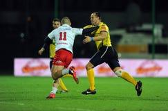 Rugby Pologne - Moldau amicaux Photo libre de droits