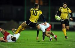 Rugby Polonia - Moldavia amichevoli Fotografie Stock Libere da Diritti