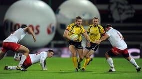 Rugby Polonia - Moldavia amichevoli Fotografia Stock