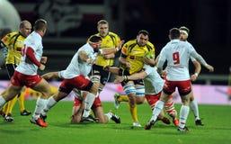 Rugby Polonia - Moldavia amichevoli Immagini Stock Libere da Diritti