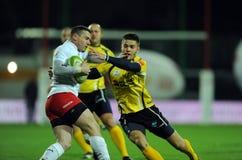 Rugby Polonia - Moldavia amichevoli Immagine Stock Libera da Diritti