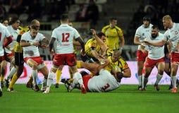 Rugby Polonia - Moldavia amichevoli Immagine Stock