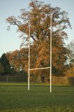 Rugby post Royalty Free Stock Photos