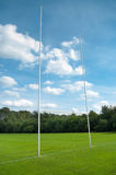 Rugby post Royalty Free Stock Image