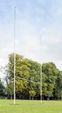 Rugby posts Royalty Free Stock Photos