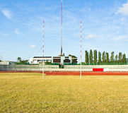 Rugby posts Stock Images