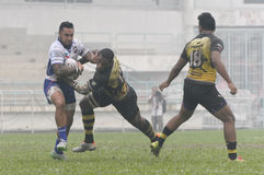 Rugby 33rd Agong Cup 2015 Royalty Free Stock Photo