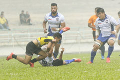 Rugby 33rd Agong Cup 2015 Royalty Free Stock Images